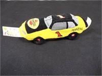 Nascar Beanie Racers (3) & Speedy Beanie (1)