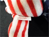 Groovy, 1999 Holiday, White Spangle, Pink Spangle