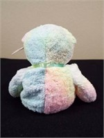 Groovy, Pink Spangle, 1999 Holiday Teddy, Ty 2K