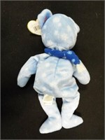 Lips, 1999 Holiday Teddy, White Spangle, Groovy