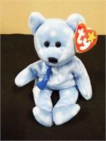 1999 Holiday Teddy and Acrylic Display Box