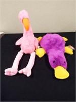 Beanie Buddies Patti and Pinky