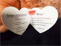 Beanie Buddies Peanut and Bongo