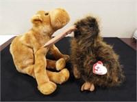 Beanie Buddies Humphrey and Beak