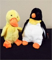 Beanie Buddies Quackers and Waddle