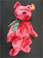Beanie Buddies Millennium and Cranberry Teddy