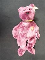 Beanie Buddies Peace and 2000 Signature Bear