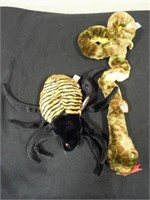 Beanie Buddies Spinner and Slither