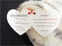 Beanie Buddies Silver and Rover