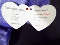 Beanie Buddies Kicks and Employee Bear