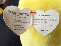 Beanie Buddies Peking and Quackers