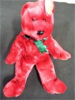 Beanie Buddies Cranberry Teddy and Fuzz