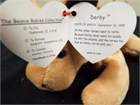 Mystic, Scorch, Derby (fur?) and Derby 4008 (yarn)