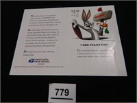 Daffy Duck Collector's Stamp Sheet