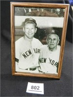 Mickey Mantle & Casey Stengel
