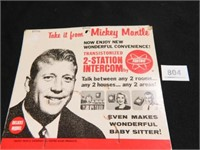 Mickey Mantle Advertising