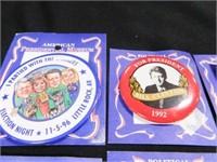 Bill Clinton Campaign Buttons-(5)
