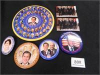 George W. Bush Political Buttons-5