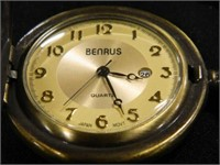 Benrus Pocket Watch w/Eagle