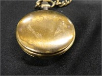 Benrus Pocket Watch w/Eagle