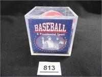 Baseball-A Presidential Sport