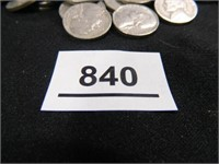 Jefferson Nickels; 1940's; '50's; '60's