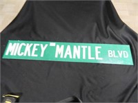 Mickey Mantle Blvd. Street Sign