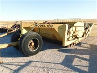 Holcomb Model 1200 pan scraper
