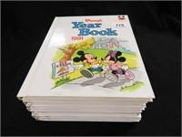 Disney Yearbooks; 9 Volumes
