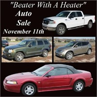 """""""Beater With A Heater"""" Auto Auction"""