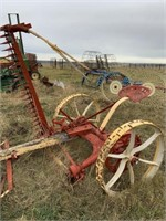 Steel wheel 5' sickle mower (red/yellow)