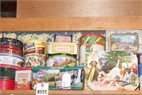 Tins - Advertising & Other - 20+ Pc