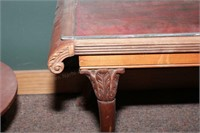 Antique style oval end tables