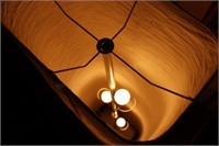 Contemporary Floor Lamp W/Tall Shade