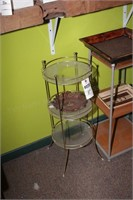 Plant Stands, Trays - 5 Pc