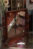 Antique shaving mirror & dresser mirror