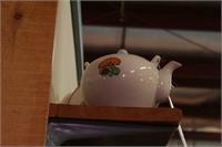 Ceramic Tea Pots marked japan, gibsons etc - 4 Pc