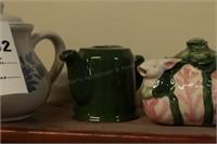 Ceramic Tea Pots - 4 Pc