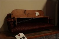 Wooden doll bench & Mini Sofa