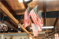 5 Small American Flags