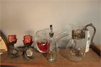 Glass Décor   5 Pc