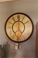 Wall Clock W/ Roman Numerals & Second Dial