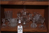 Crystal creamer, Clear Glass - 10 Pieces