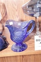Blano glass, Blue stemware & handcrafted glass
