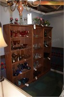 Wood Shelf Units - 2 Pc
