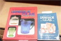 Reference Books - Depression Glass - 2 Pc