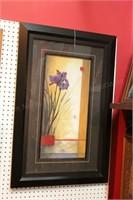 Framed Floral Prints - 3 Pc