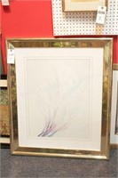 Large Framed Contemporary wall art - 5 Pc