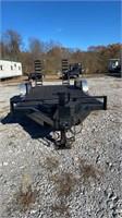 20' Equipment trailer inside finder width 80.5'