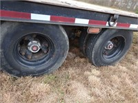 1994 Trail King Flatbed Trailer-Title